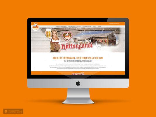 WEBDESIGN BEIERLEINS HÜTTENGAUDI CALLENBERG / REICHENBACH
