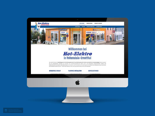 WEBDESIGN HOT-ELEKTRO HOHENSTEIN-ERNSTTHAL