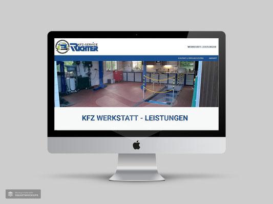 LOGO- & WEBDESIGN KFZ SERVICE KAI RICHTER CALLENBERG OT REICHENBACH
