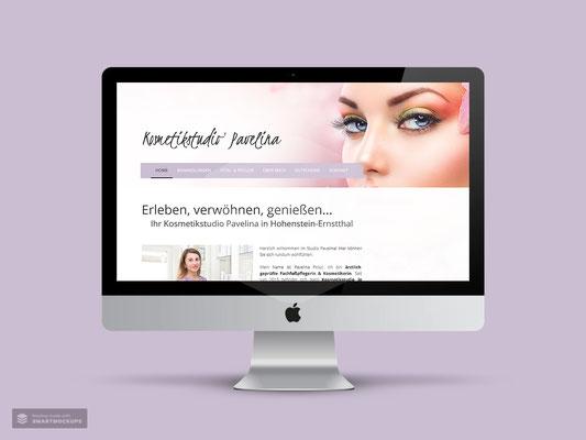 WEBDESIGN KOSMETIKSTUDIO PAVELINA HOHENSTEIN-ERNSTTHAL