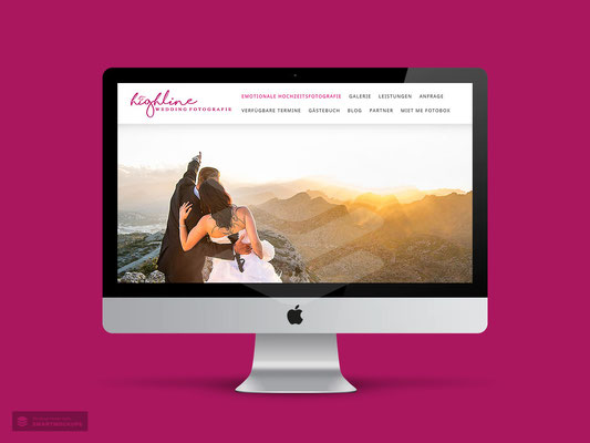 WEBDESIGN HIGHLINE WEDDING FOTOGRAFIE HOHENSTEIN-ERNSTTHAL
