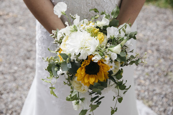 Sonnenblumen Hochzeit Bild: Fotografik11, Solothurn