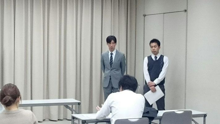 参加者様のご質問に答える中谷講師と矢守講師