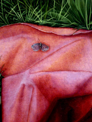 Textiles Gebilde -2, 2018. Fotoprint, limitierte Auflage von fünf Fotos, 30x40 cm © Christian Benz