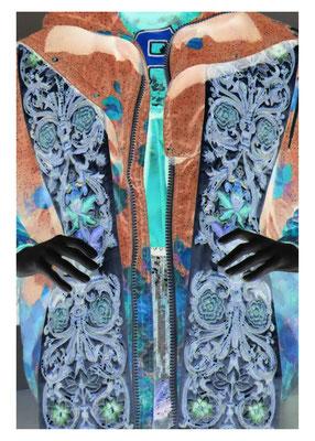 Textiles Gebilde -34, 2021. Fotoprint, 30x40 cm © Christian Benz