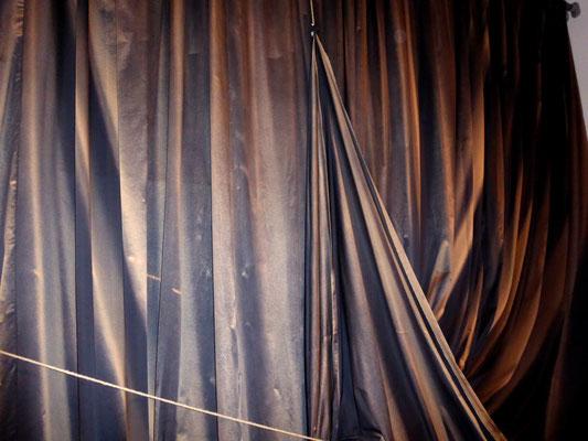 Textiles Gebilde -1, 2018. Fotoprint, 30x40 cm © Christian Benz