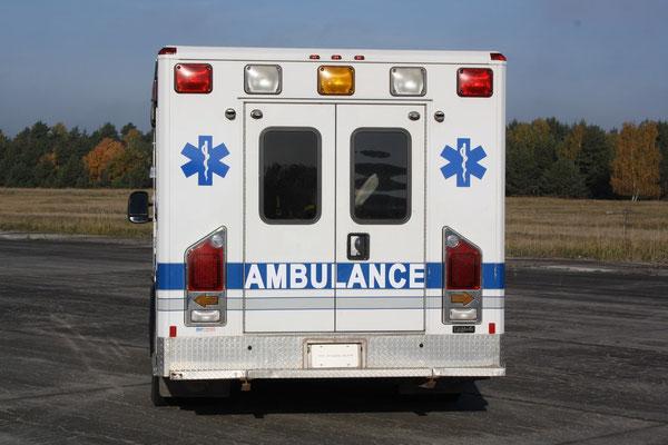 US Ambulanz Heck