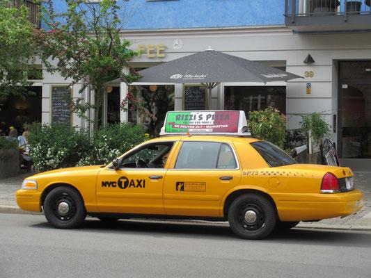 New York Taxi Filmfahrzeug