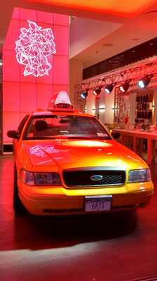 NYC Taxi Promo Fahrzeug