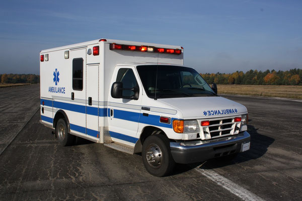 US Ambulance Front