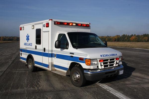 US Ambulance Front