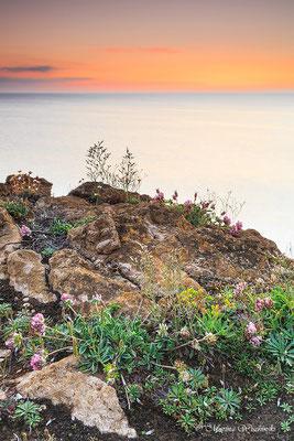 Spanische Atlantikküste sundown
