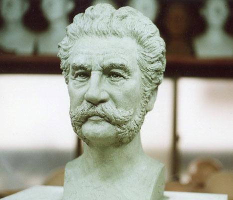 ヨハン・シュトラウス粘土原型