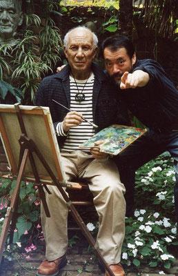 ピカソと松﨑覚  「先生、カメラは向こうです」