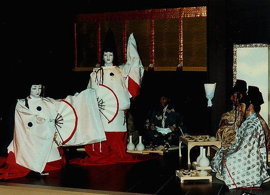 舞 ♫酒はうまいし ネエチャンきれいだ~    /奥州藤原歴史館