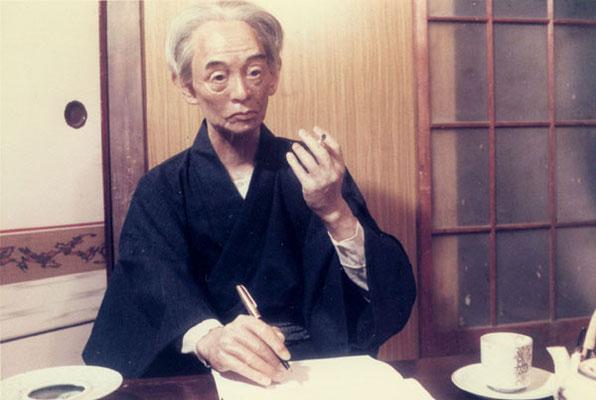 """川端康成  """"三島君、スマンネ!お先にノーベル賞。"""""""