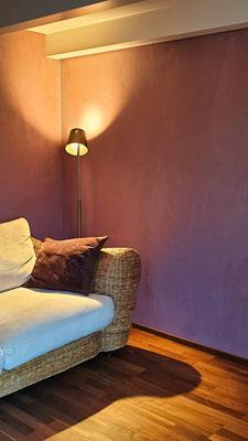 Das Dachgeschoss helle Farbtöne zum Relaxen, Lesen und Musizieren