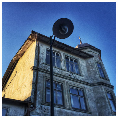"Hiddensee. Einstiges Hotel ""Zur Ostsee"". September 2015."