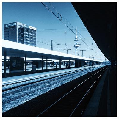 Hauptbahnhof Dortmund. Mai 2016.