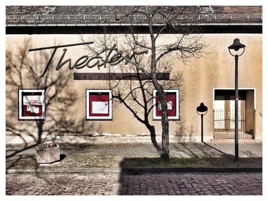 """Einstiger Lichstspielbetrieb """"Theater der Freundschaft"""" in Radegast. April 2016."""