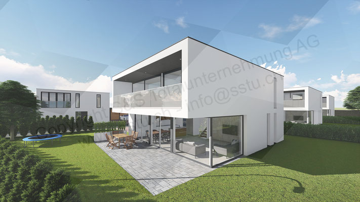 Planung von Einfamilienhaus in Niederbipp - ARE Alternative Real Estate Immobilien, Oftringen / Zug