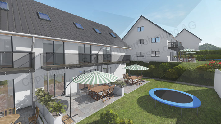 Planung von Einfamilienhaus in Walterswil - ARE Alternative Real Estate Immobilien, Oftringen / Zug