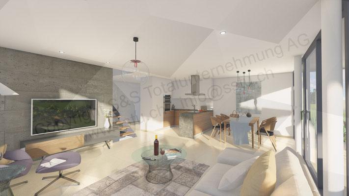 Planung von Einfamilienhaus in Inkwil - ARE Alternative Real Estate Immobilien, Oftringen / Zug