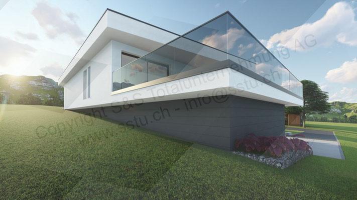 Planung von Einfamilienhaus in Lengnau - ARE Alternative Real Estate Immobilien, Oftringen / Zug