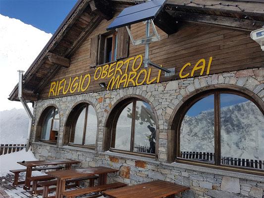 """""""Occhi di Aquila"""" verso il Monte Rosa"""