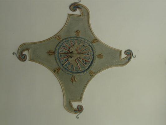 Plafond de la sacristie
