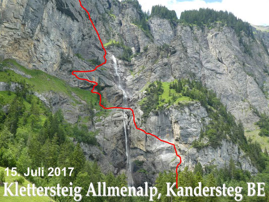 Klettersteig Allmenalp : Ks allmenalp be heinz gueller