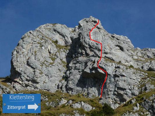Klettersteig Zittergrat : Ks brunni zittergrat ow heinz gueller