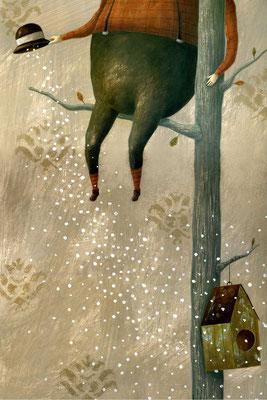 L'omino della neve Inedito