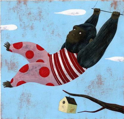 Il Gorilla trapezista Inedito