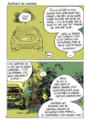""""""" Éléments de langage """" in Détachez vos ceintures (éditions du Kyste) : version couleur inédite"""