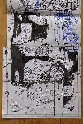 La Pépie dès Potron-Minet : dessiner une gentilhommière troglodyte / designing a cave manor