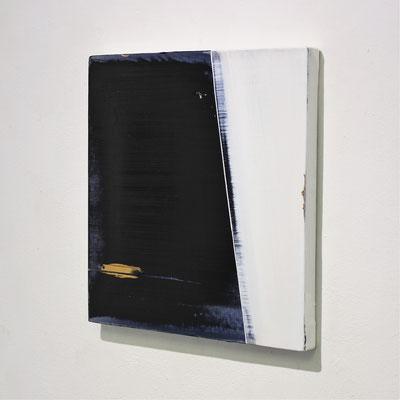 """No.109 Measurement ""  2018 oil on canvas  27.3×41cm Private Collection"
