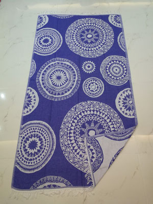 MAYA PATTERN BEACH TOWEL