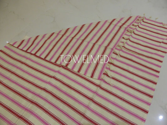 Candy striped fouta