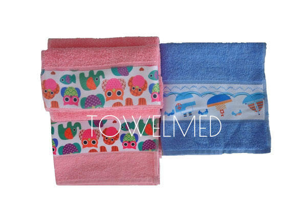 Custom kids towels