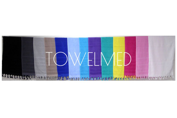 Hand towel with fringes