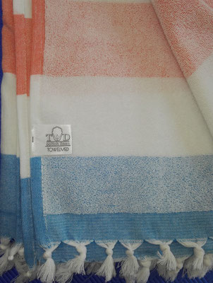 Logo labelled Turkish towel