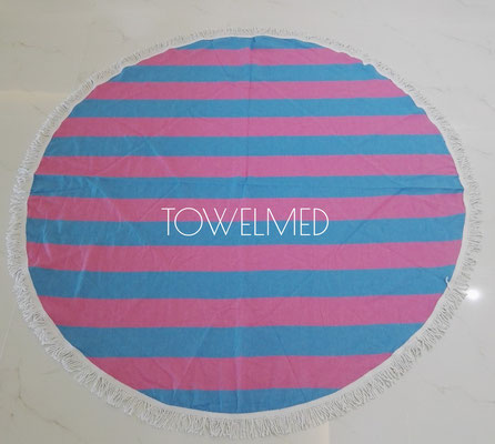 Round fouta towel by Towelmed
