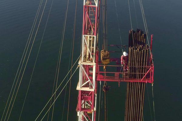 Photographie et Vidéo industrielle - plateforme pétrolière