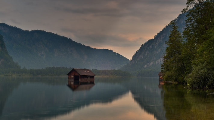 Morgenstimmung am Almsee