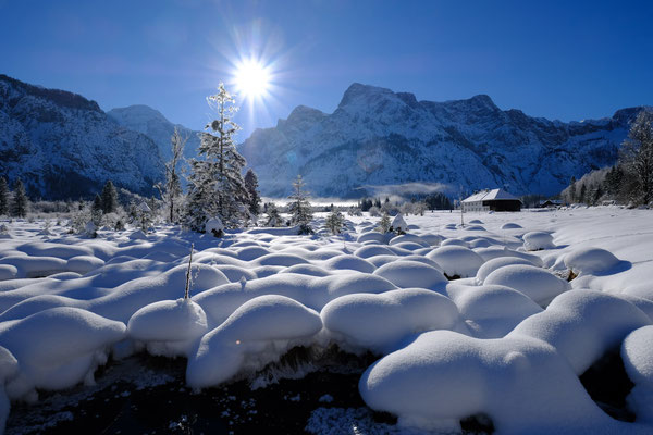 Almsee im Winter