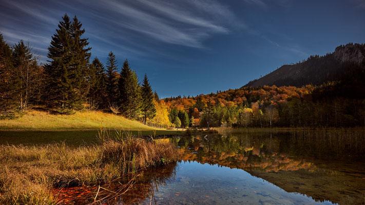 Laudachsee im Herbst