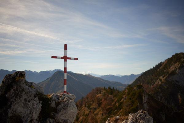 Gipfelkreuz des Gasselkogels