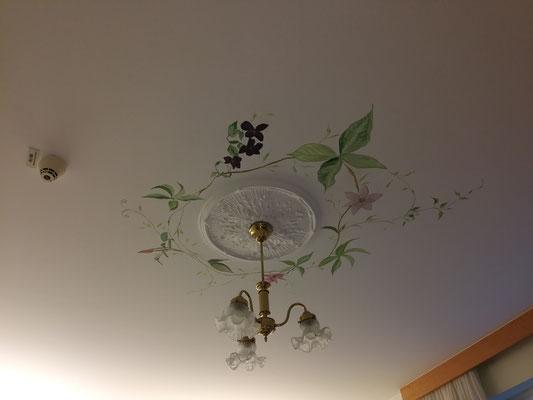 gemalte Blumenranken