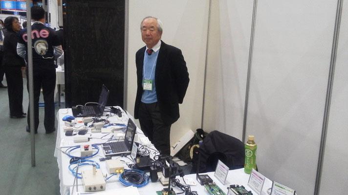 無線ネットワーク製品と営業部長徳山